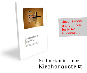 So funktioniert der Kirchenaustritt