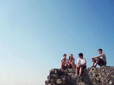 Jugendliche allein auf Reisen
